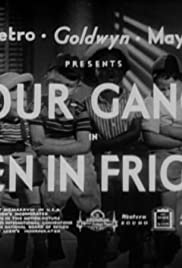 Men in Fright Poster