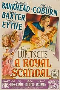 A Royal Scandal by Ernst Lubitsch