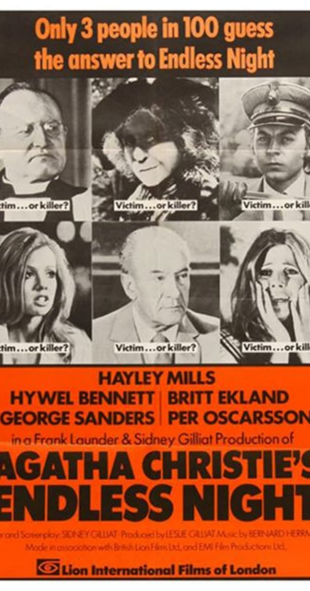 Endless Night (1972) Subtitles