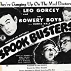 Tanis Chandler, Douglass Dumbrille, Leo Gorcey, and Huntz Hall in Spook Busters (1946)