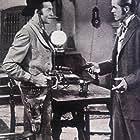 Dan Duryea and Jeffrey Lynn in Black Bart (1948)