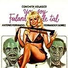 Francisco Algora, Concha Velasco, and David Carpenter in Yo soy Fulana de Tal (1975)