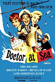 Doctor at Sea (1955) Poster - Movie Forum, Cast, Reviews