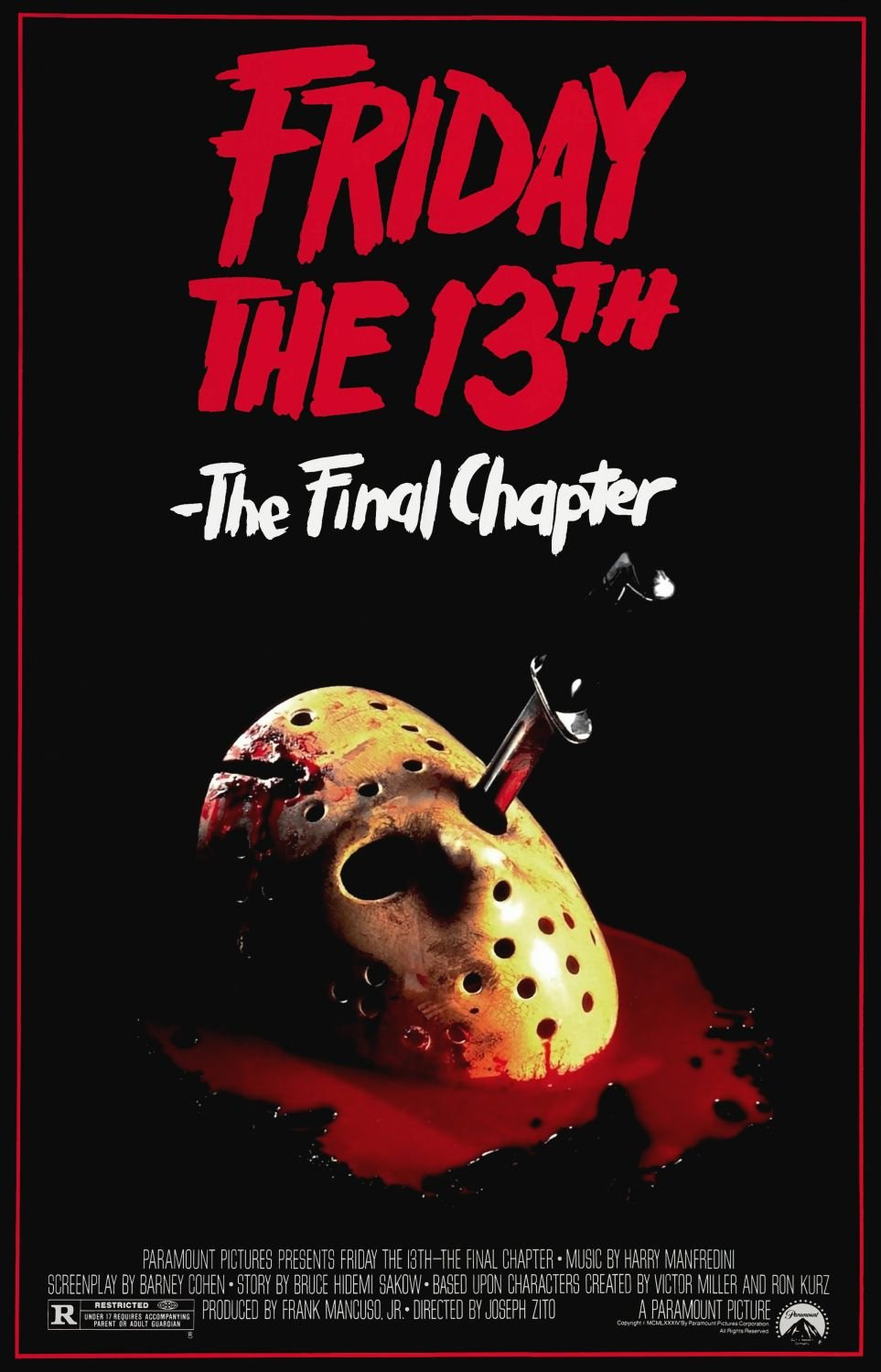 Friday The 13th The Final Chapter 1984 Imdb