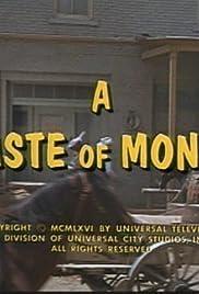 A Taste of Money Poster