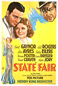 Lew Ayres, Sally Eilers, Janet Gaynor, and Will Rogers in State Fair (1933)