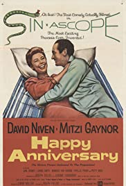Happy Anniversary (1959) Poster - Movie Forum, Cast, Reviews
