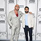Dave Bautista and Kumail Nanjiani at an event for Stuber (2019)