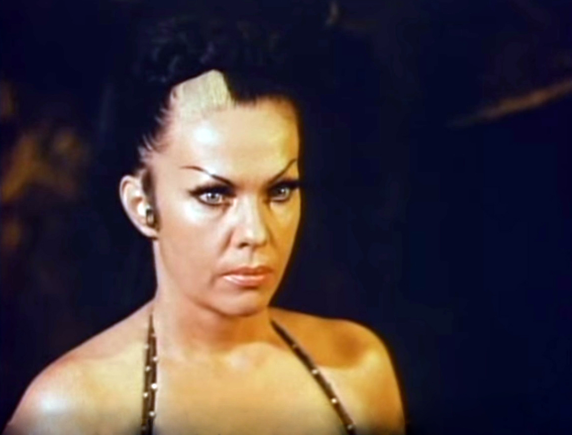 Tongolele in La muerte viviente (1971)