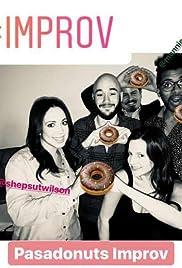 The Pasadonuts Improv Livestream Poster