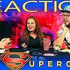 Melanie Elliott, Eric Whiteley, and Aaron Elliott in Blind Wave: Supergirl Reaction (2015)