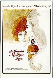 To Ingrid, My Love, Lisa (1968) with English Subtitles on DVD on DVD
