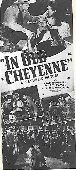 Where to stream In Old Cheyenne
