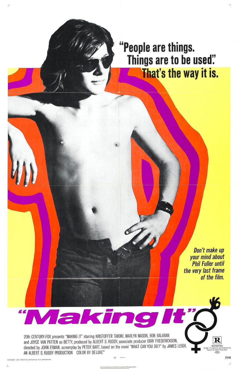 Image result for Making It movie poster 1971