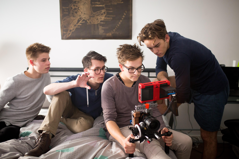 Riley Sugars, Josh King, and Benjamin Weekes in Jack in the Box (2018)