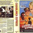Jason Connery, Glenn Ford, and Francesco Quinn in Casablanca Express (1989)
