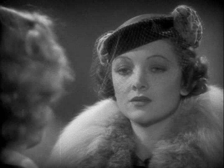 Jean Harlow and Myrna Loy in Wife vs. Secretary (1936)
