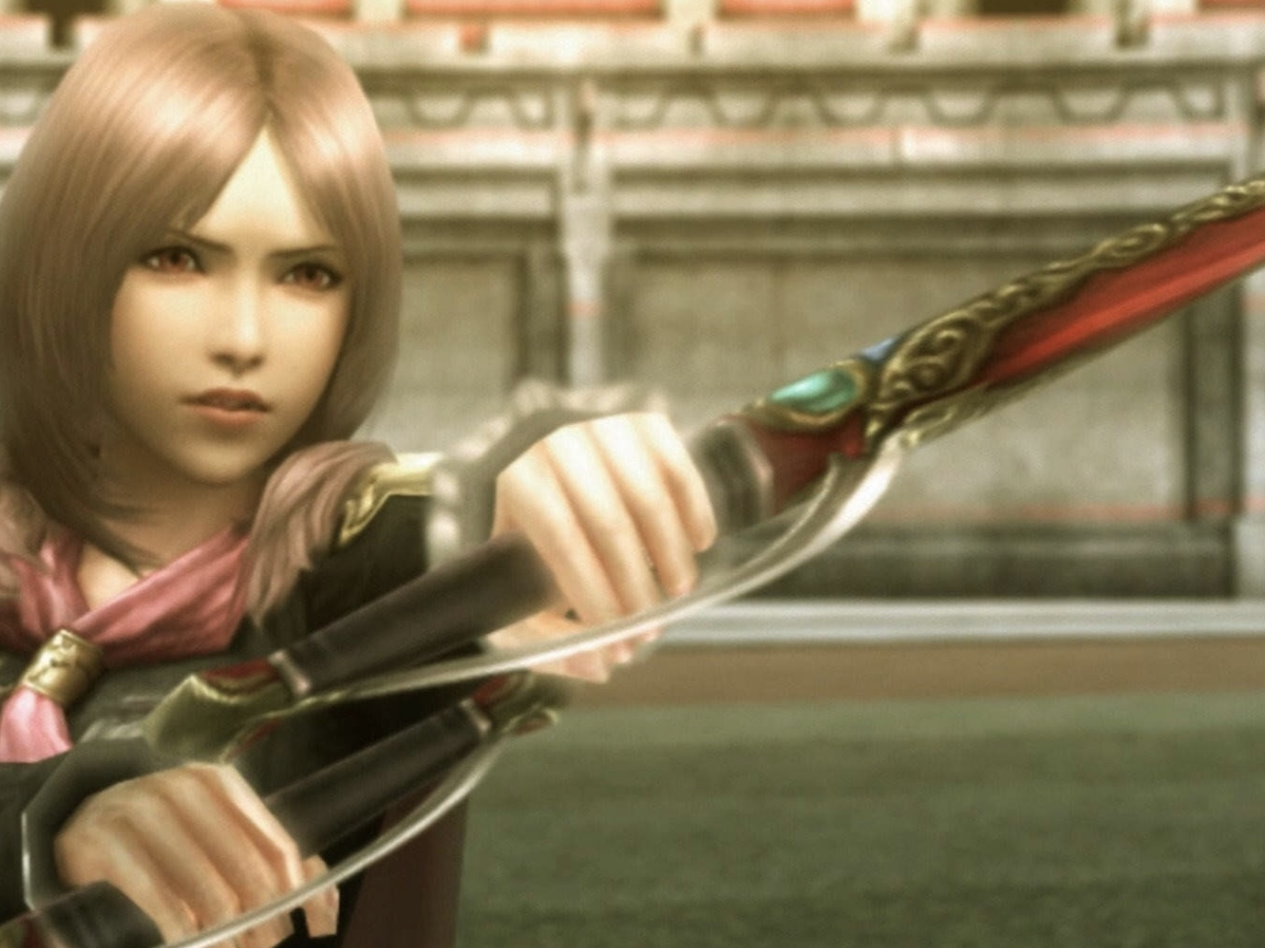 Peyton McCormick in Final Fantasy Type-0 HD (2015)