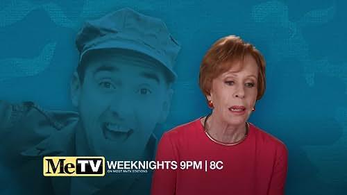 Carol Burnett talks about Jim Nabors and appearing on Gomer Pyle U.S.M.C.