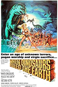 When Dinosaurs Ruled the Earth (1971) Poster - Movie Forum, Cast, Reviews