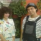 Jorge Alejandro and Beatriz Olea in ¡Ah qué Kiko! (1987)