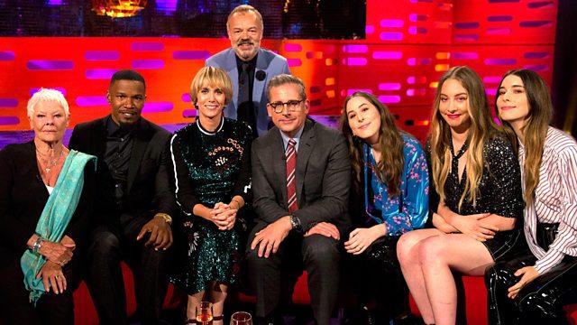 "دانلود زیرنویس فارسی فیلم ""The Graham Norton Show"" Dame Judi Dench/Steve Carell/Kristen Wiig/Jamie Foxx/HAIM"