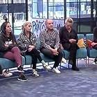 Belén Rodríguez, Víctor Sandoval, Lydia Lozano, Chelo García Cortés, Carmen Borrego, Antonio Montero, and Anabel Pantoja in Sálvame Okupa (2019)