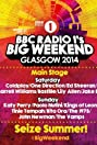 BBC Radio 1's Big Weekend Glasgow 2014 (2014) Poster