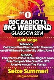 BBC Radio 1's Big Weekend Glasgow 2014 Poster