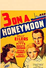 Three on a Honeymoon Poster