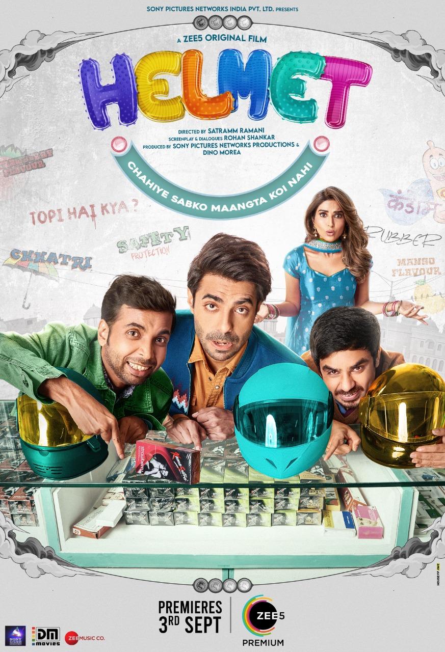 Helmet (2021) Hindi Full Movie 480p ZEE5 HDRip ESubs 400MB Download