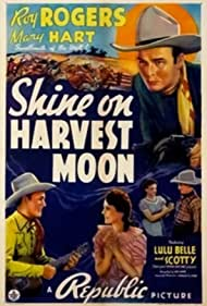 Roy Rogers, Lynne Roberts, Myrtle Wiseman, and Scotty Wiseman in Shine on Harvest Moon (1938)
