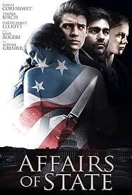 Mimi Rogers, Thora Birch, David James Elliott, Adrian Grenier, Grace Victoria Cox, and David Corenswet in Affairs of State (2018)