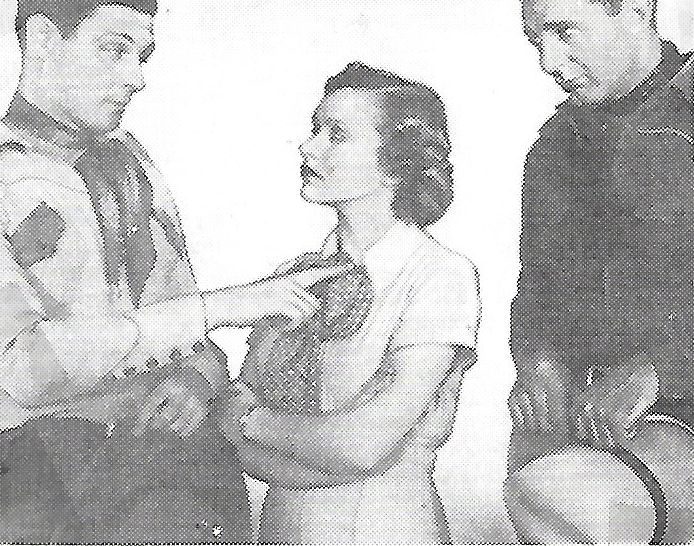 Ray Corrigan, Maxine Doyle, and Robert Livingston in Come on, Cowboys (1937)