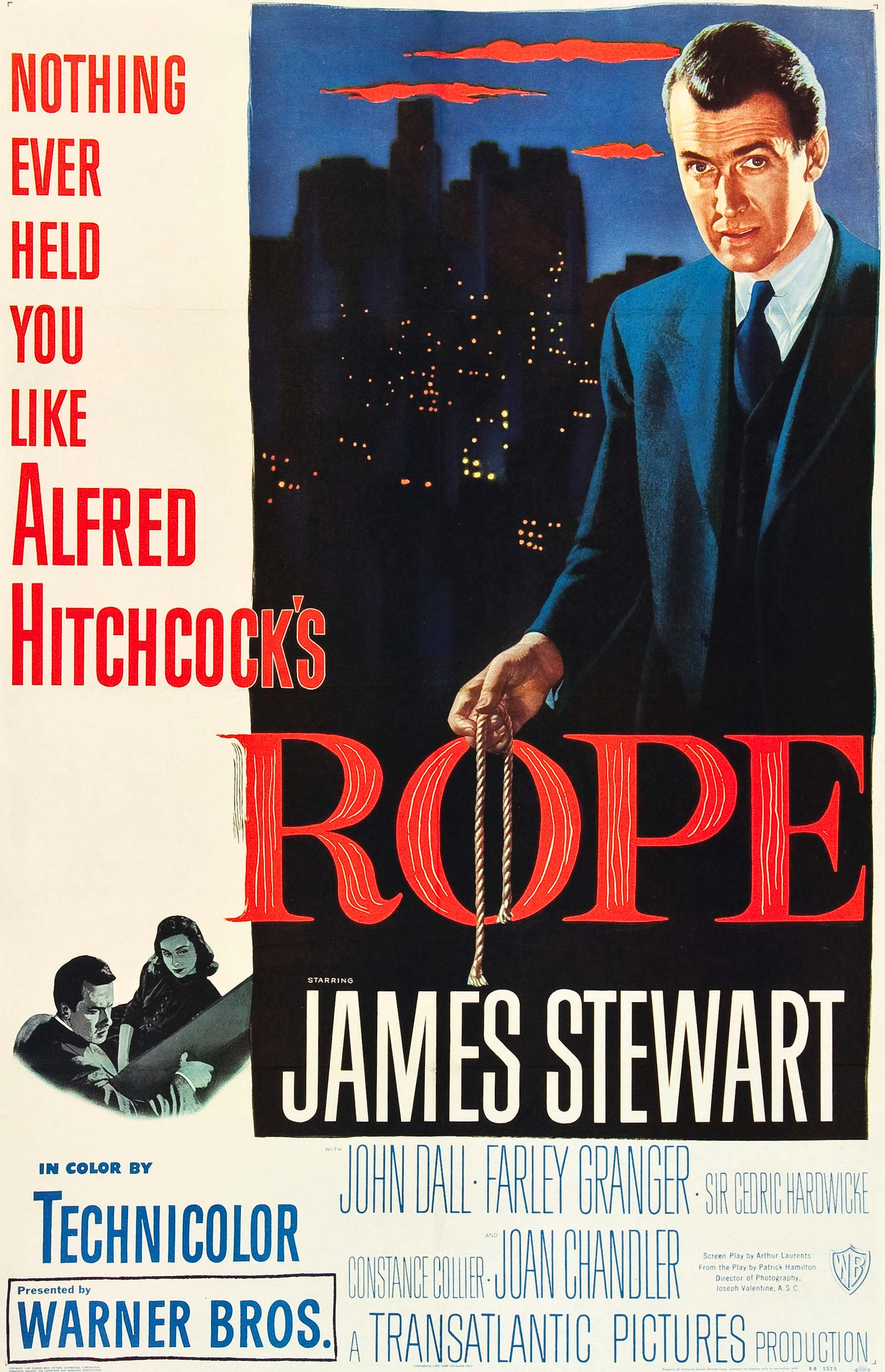 Rope (1948) BluRay 480p, 720p & 1080p