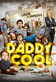 Vincent Elbaz and Laurence Arné in Daddy Cool (2017)