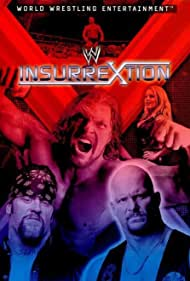Steve Austin, Mark Calaway, Paul Levesque, and Trish Stratus in WWF Insurrextion (2002)