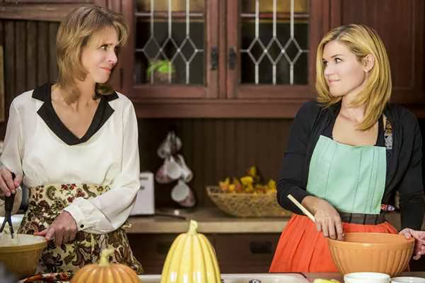 Lindsay Wagner and Emily Rose in The Thanksgiving House (2013)