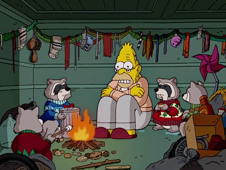 Simpsons Christmas.Simpsons Christmas Stories 2005