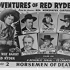 Noah Beery, Maude Allen, Don 'Red' Barry, Tommy Cook, William Farnum, Bob Kortman, and Hal Taliaferro in Adventures of Red Ryder (1940)