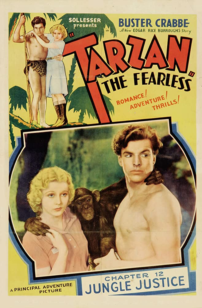 Julie Bishop and Buster Crabbe in Tarzan the Fearless (1933)