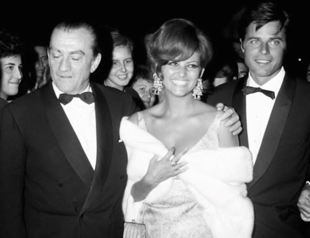 Claudia Cardinale, Jean Sorel, and Luchino Visconti at an event for Vaghe stelle dell'Orsa... (1965)