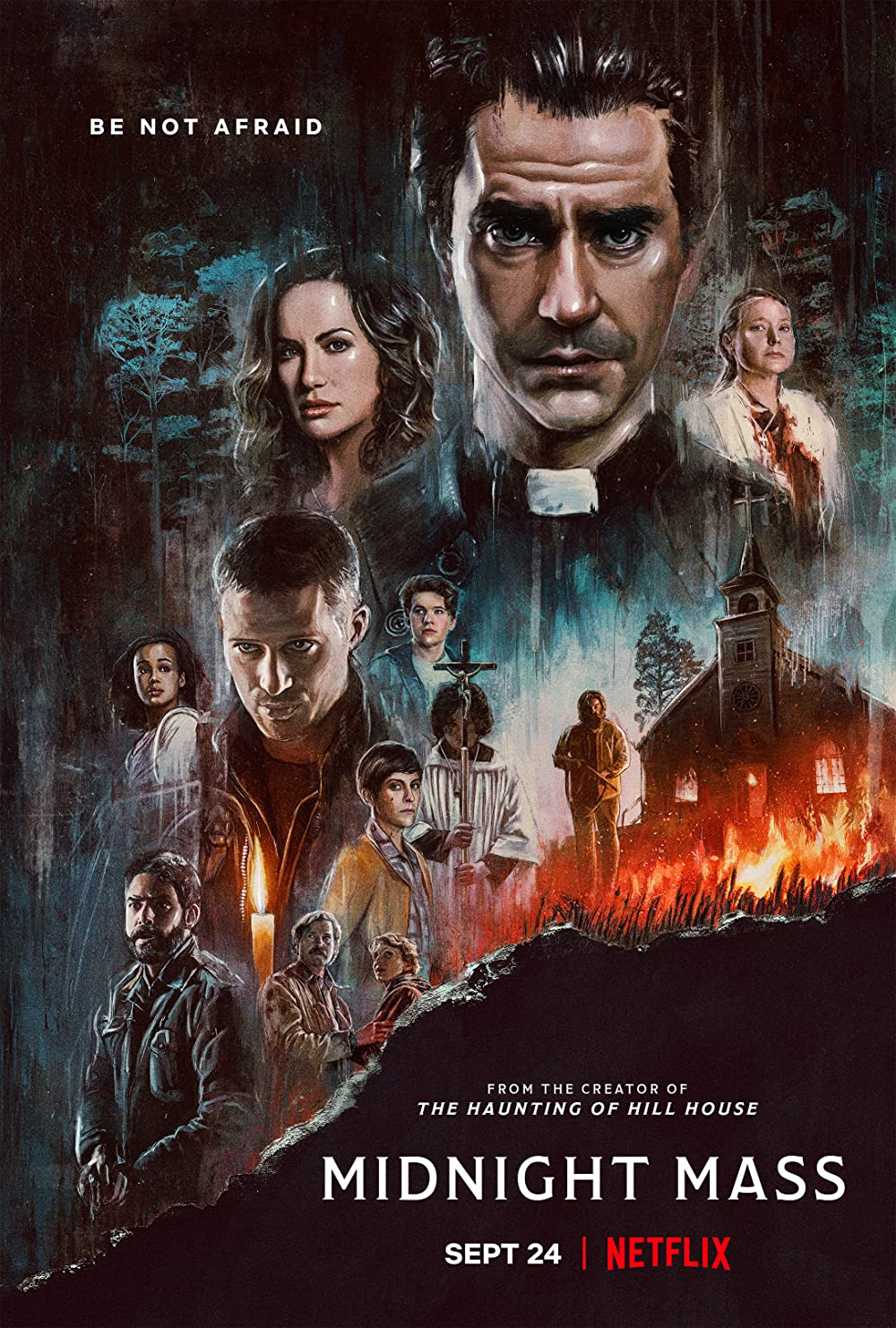 Midnight Mass 2021 S01 Complete Hindi Dubbed 480p 720p WEB-DL