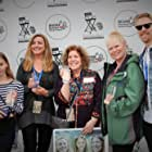 Ellen Gerstein, Julia Parker, Linda Palmer, Scott Simerly Jr., Nami Melumad, Kruiz Mauga, and Krisd Mauga at an event for Passage (2018)
