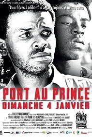 Rosa Bursztein, Emmanuel Vilsaint, and James Star Pierre in Port-au-Prince, dimanche 4 janvier (2015)