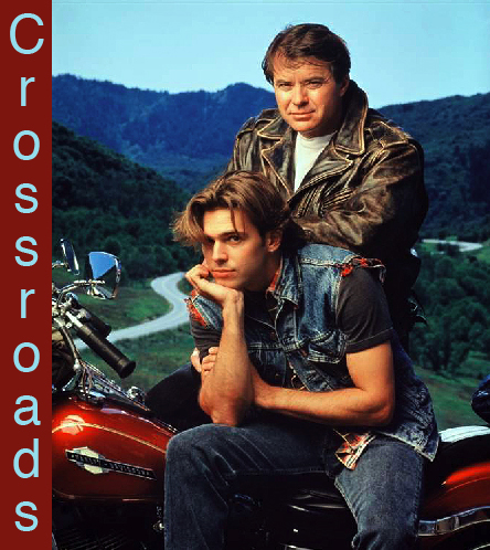 Robert Urich and Dalton James in Crossroads (1992)