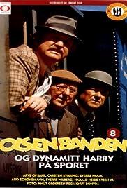 Olsenbanden og Dynamitt-Harry på sporet Poster