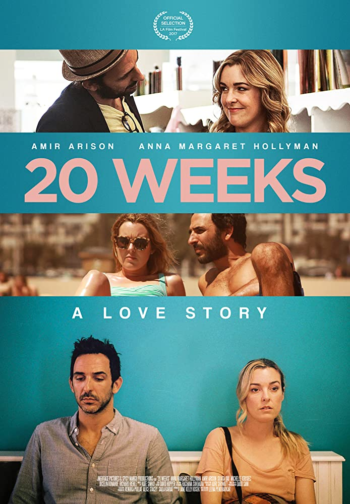 Amir Arison and Anna Margaret Hollyman in 20 Weeks (2017)