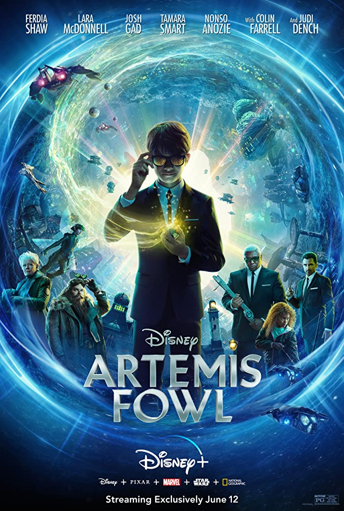 Artemis Fowl 2020 English 720p DSNP HDRip 800MB ESubs