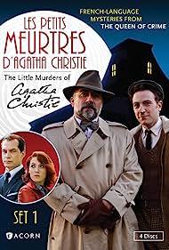 Marius Colucci, Antoine Duléry, Samuel Labarthe, and Blandine Bellavoir in Les petits meurtres d'Agatha Christie (2009)